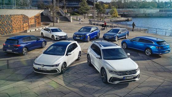 Volkswagen modellek híd előtt
